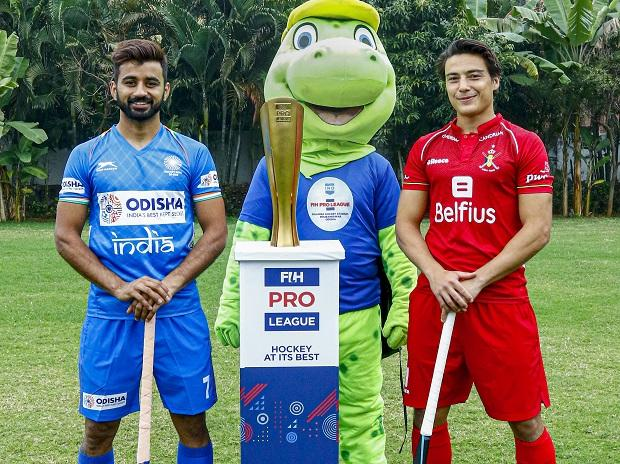 Manpreet Singh, Thomas Briels, FIH Pro Hockey League