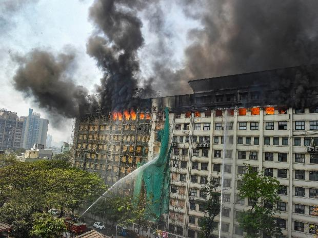 At least five fire-tenders were deployed to battle the blaze