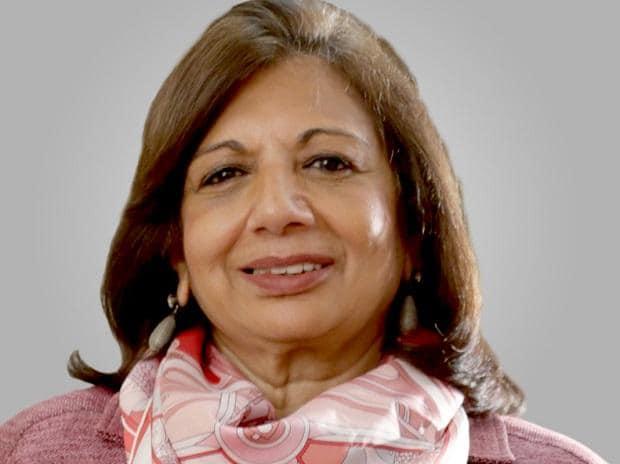 Kiran Mazumdar Shaw, Biocon CMD