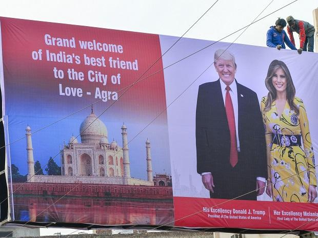 Agra's Taj Mahal goes for speed cleaning ahead of Donald Trump's visit thumbnail