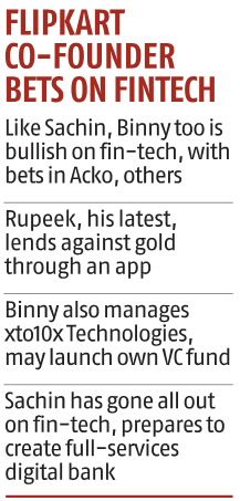 Rupeek raises $60 million from Binny Bansal, GGV Capital and others