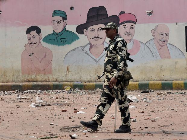 North East Delhi Violence. Photo: PTI