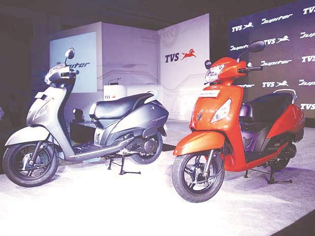 TVS Motor hits over 4-mth low; falls 6% in two days post February sales nos