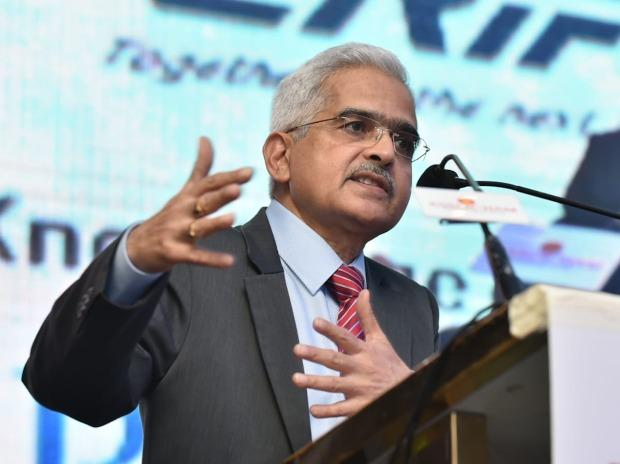 "Shaktikanta Das, Governor, RBI at ASSOCHAM'S 15th Annual Banking Summit ""Structural Reforms in MSME Funding"" in Mumbai. Photo: Kamlesh Pednekar"