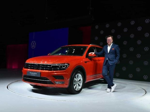 Volkswagen Tiguan Allspace SUV has been launched in India today and was first unveiled in India at the Auto Expo 202