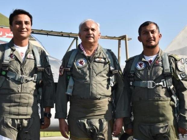 Pakistan Wing Commander Nouman Akram