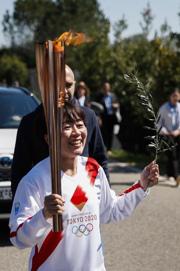 Japanese Olympic marathon champion, Mizuki Noguch