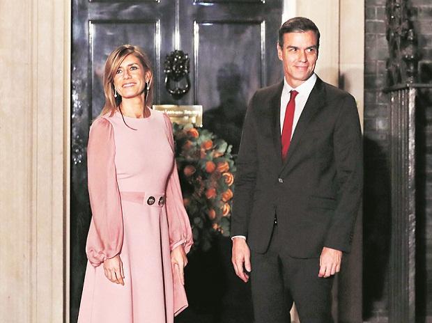 Begona Gomez, Spanish Prime Minister Pedro Sanchez