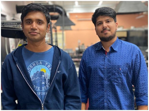 L to R: Agnikul Co-founders, Srinath Ravichandran and Moin SPM
