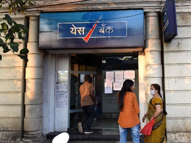 YES Bank ATM at  Charni Road, in Mumbai (Photo- Kamlesh Pednekar)