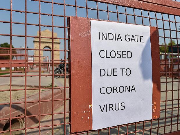 india gate, coronavirus