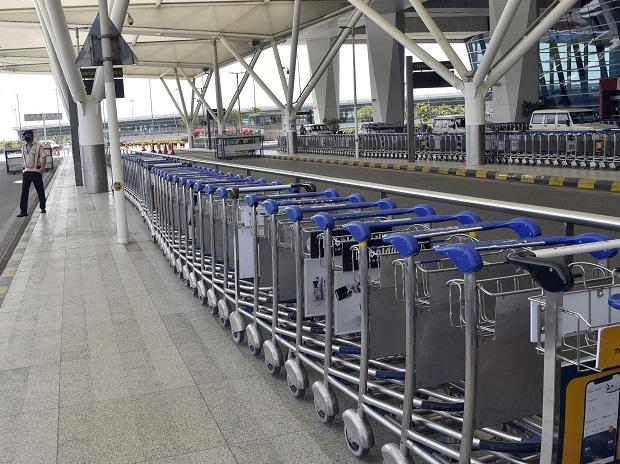 The country's borders sealed temporarily to international flights aimed at limiting the spread of the virus