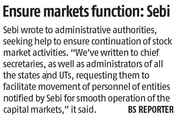Lockdown, tightening of regulatory framework hurt market volumes