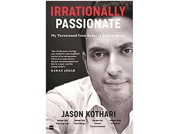 book review, Irrationally Passionate:  My Turnaround  from Rebel to Entrepreneur