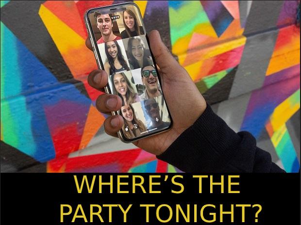 party, voice call, people, video call, chat, relax, apps, tech, friends, family, work from home
