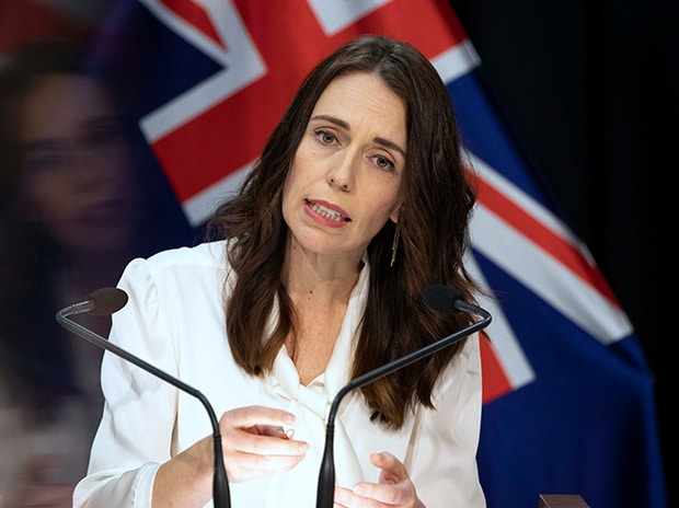New Zealand's Prime Minister Jacinda Ardern addresses a press conference at the post-cabinet media conference at Parliament, in Wellington, New Zealand. Photo: PTI