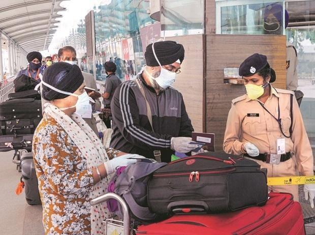 coronavirus, airport, passenger, flights, security