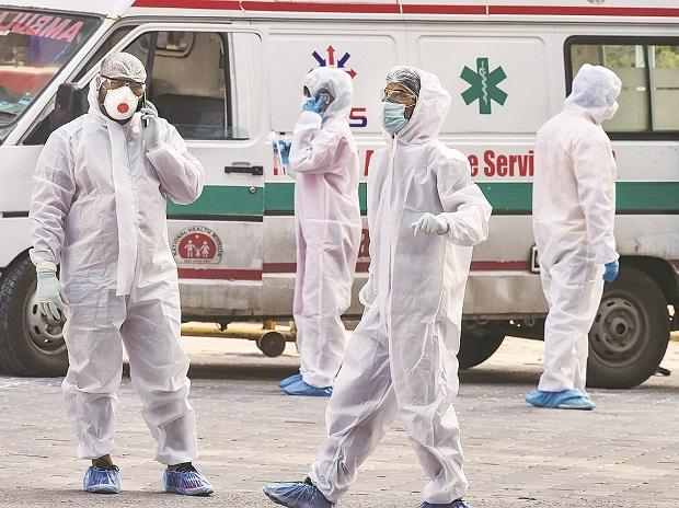 health workers, doctors, protective suits, PPE, ...