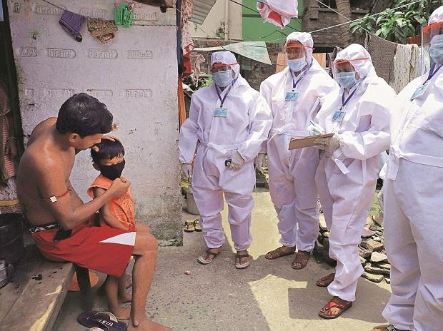 coronavirus, health workers, testing, patients, lockdown