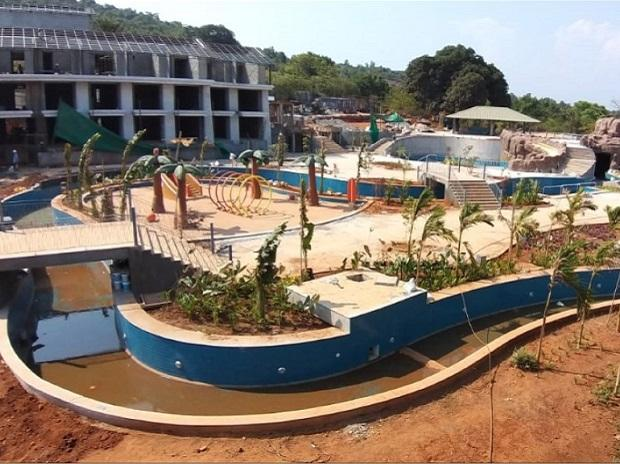 A view of Mahindra Holidays in Goa