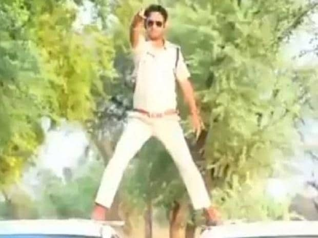 The superintendent of police has warned him against any such daredevilry in the future