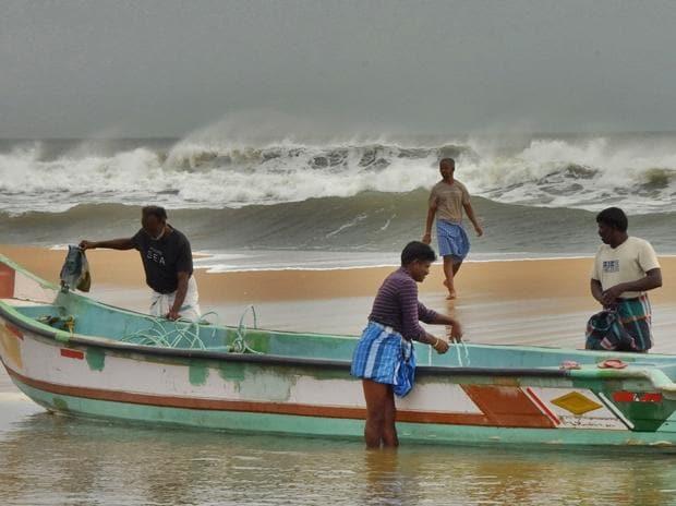 Cyclone coast