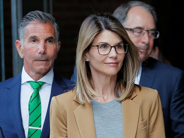 Loughlin and Giannulli were among 50 people arrested last year in the case dubbed Operation Varsity Blues that rocked the world of higher education. (Reuters)