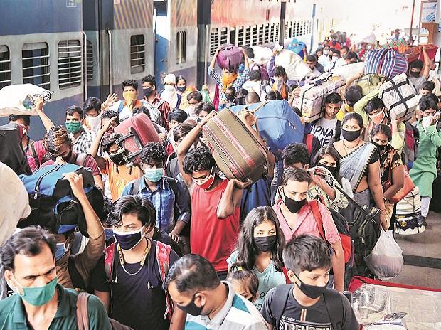migrants, workers, shramik trains, railways, people, passengers, coronavirus, covid