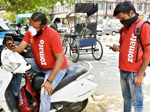 delivery workers, zomato, delivery