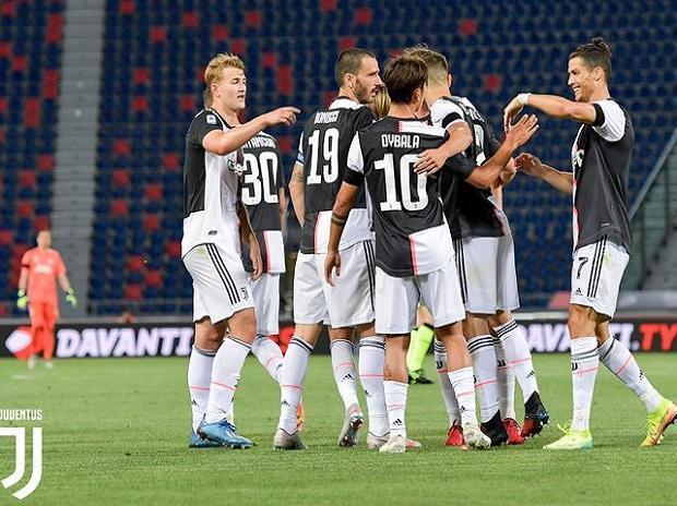 Juventus football club. Photo: @juventusfcen
