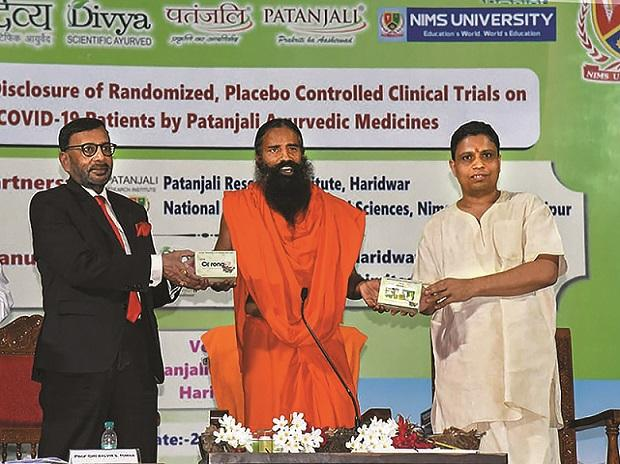 Rajasthan cops charge Ramdev, Patanjali MD with cheating for Covid-19 drug
