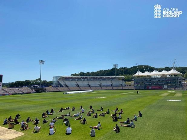 England cricket team. Photo: @englandcricket