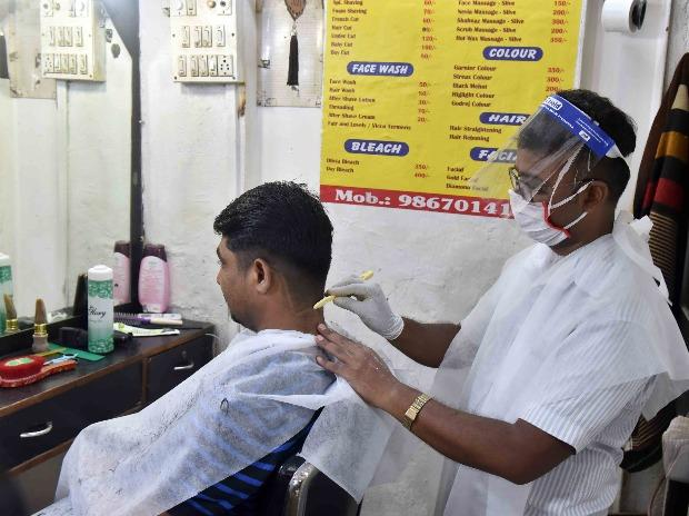 Hairstylists will wear PPE kits like mask and gloves