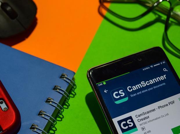 CamScanner, scanning app