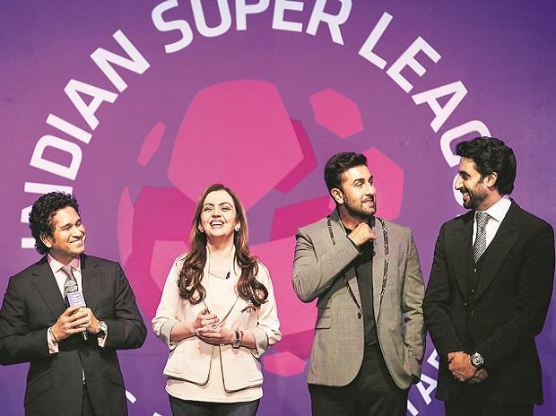ISL, INDIAN SUPER LEAGUE, FOOTBALL, NITA AMBANI, RIL, TENDULKAR, RANBIR, ABHISHEK