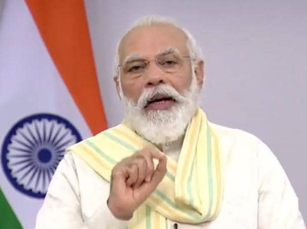 PM Narendra Modi addressing nation at World Youth Skills Day.