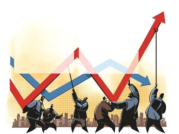The Nifty rose 7.5 per cent in June, even as domestic MFs sold shares worth nearly Rs 4,000 crore