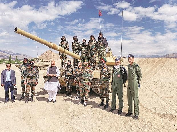 Rajnath Singh, indian army, defence, border, lac, china, ladakh