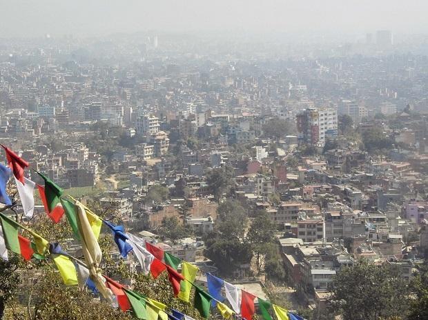 File photo of Kathmandu as seen from the city's Swayambhu temple.