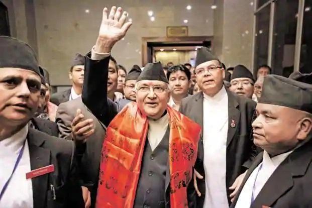 File photo of Nepal Prime Minister K P Oli. Nepal recalled India envoy, cancelled President Bhandari's visit in 2016. Photo: Reuters