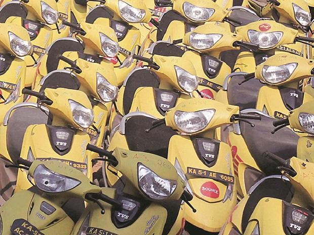 tvs, scooter, automobile, two wheeler