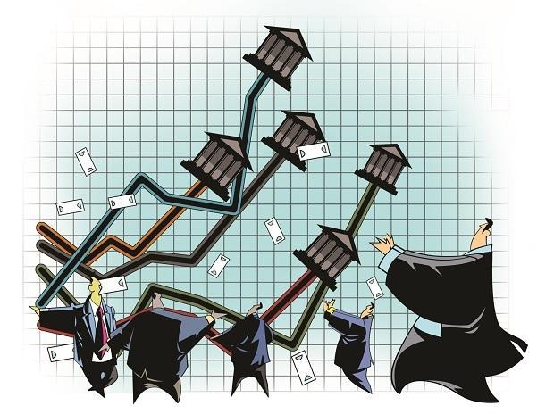 bank stocks, stock market, share market