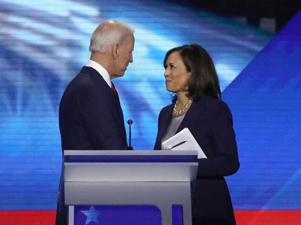 Biden Praises Running Mate Kamala Harris In Nomination Acceptance Speech Business Standard News