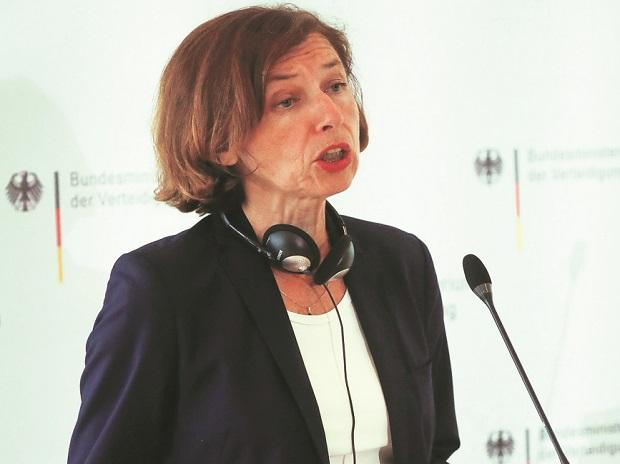 France's defense minister Florence Parly