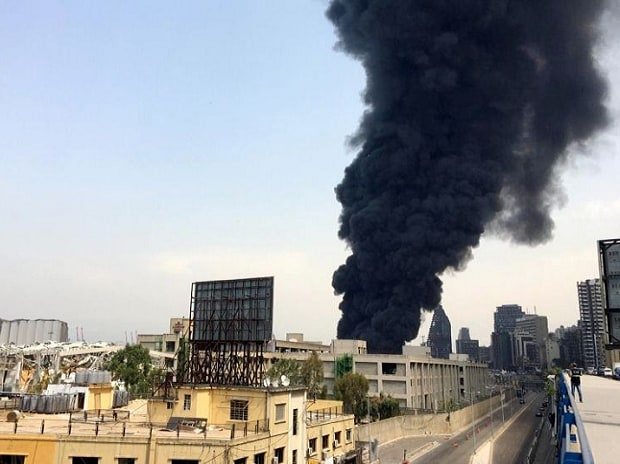 Fire breaks out in Beirut Port | Photo: Reuters