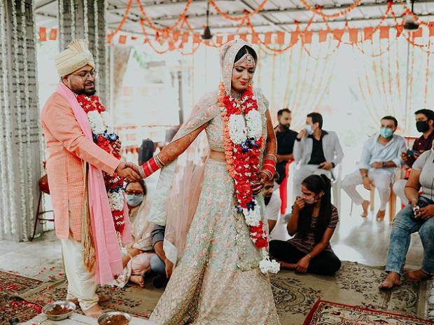 Small is in as 'Corona' nuptials take over from the Big Fat Indian Wedding