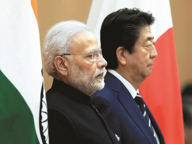 The signing of the agreement comes at a time India is locked in a bitter border row with China
