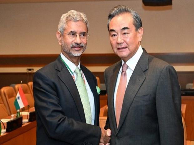 EAM S Jaishankar & Chinese Foreign Minister Wang Yi