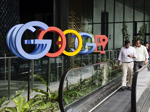 Google. Photo: Bloomberg