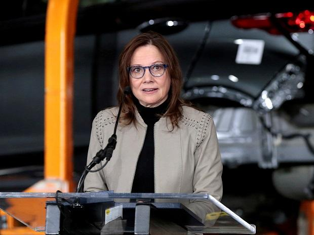 General Motors Chief Executive Officer Mary Barra. Photo: Reuters